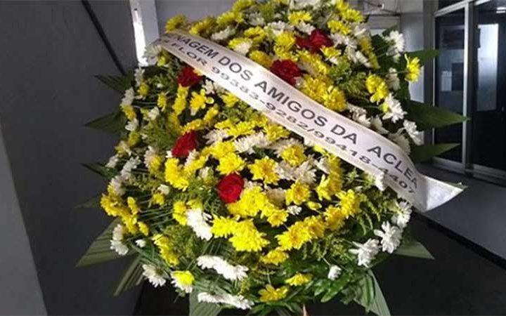 ACLEA presta homenagem na despedida ao cronista Cristiano Góes